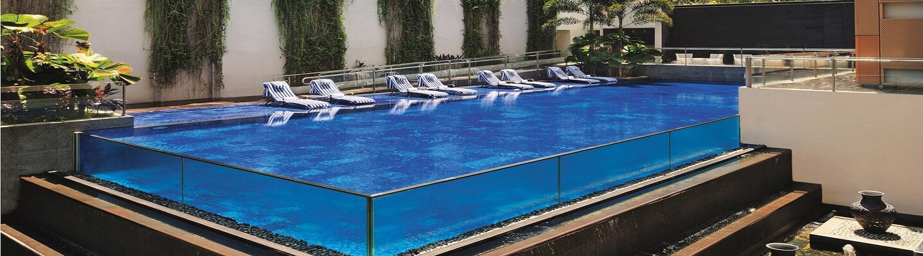 Бассейн в отеле Le Meridien Singapore Sentosa