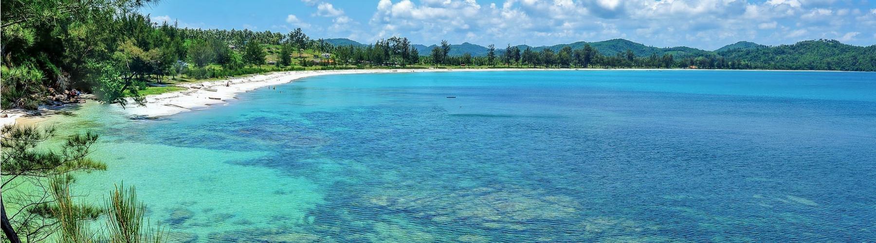 Пляжный отдых на Борнео