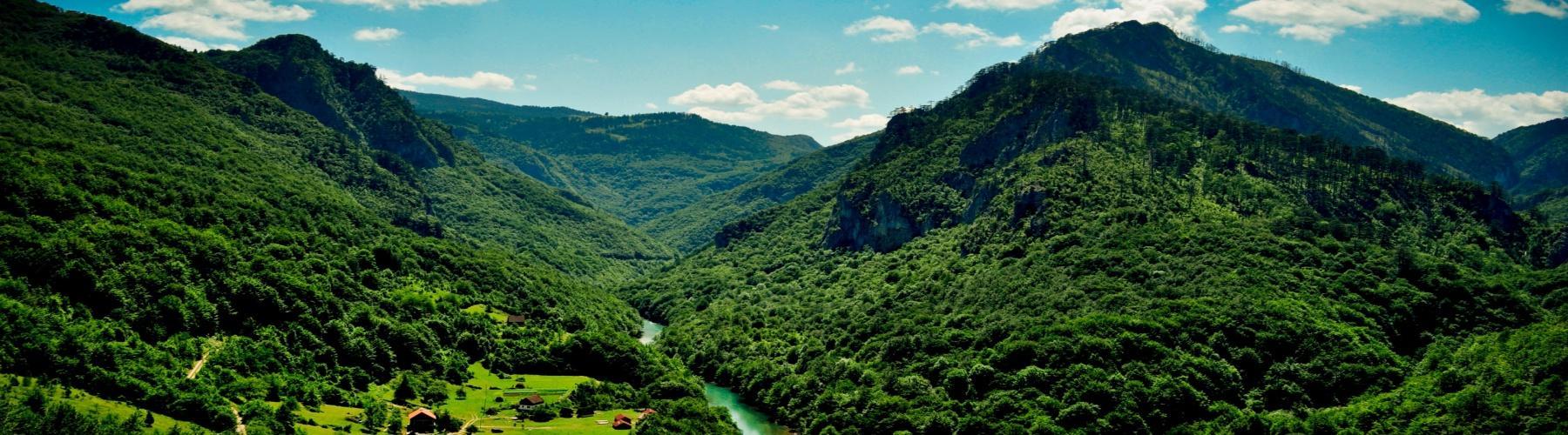 Фантастические горные пейзажи Черногории