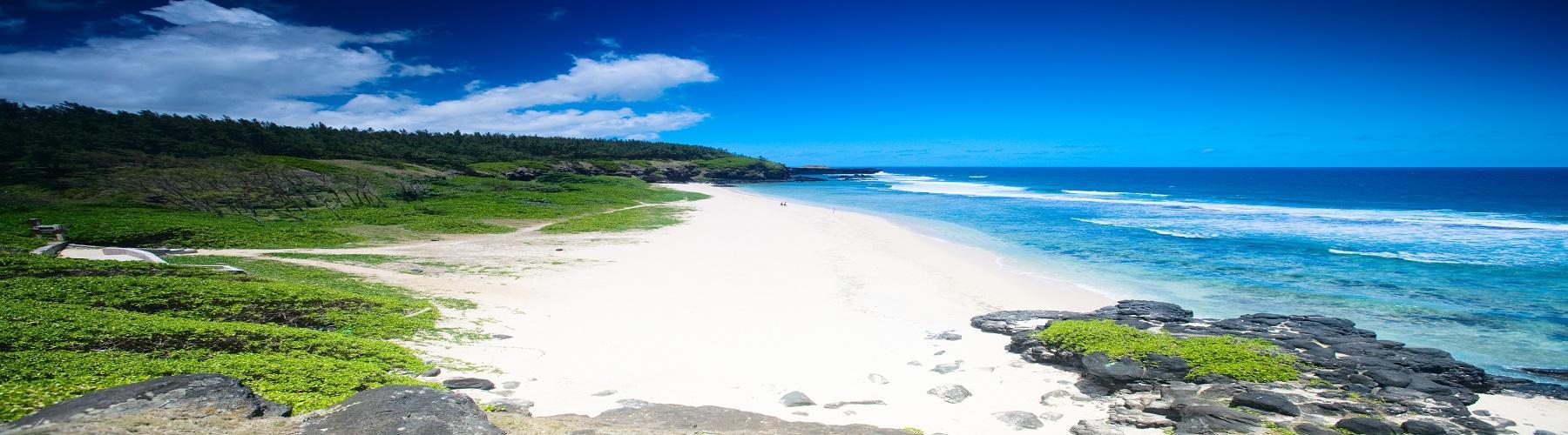 Пляжи на Маврикий