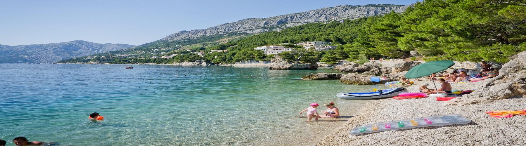 Пляжи в Хорватии Сплит