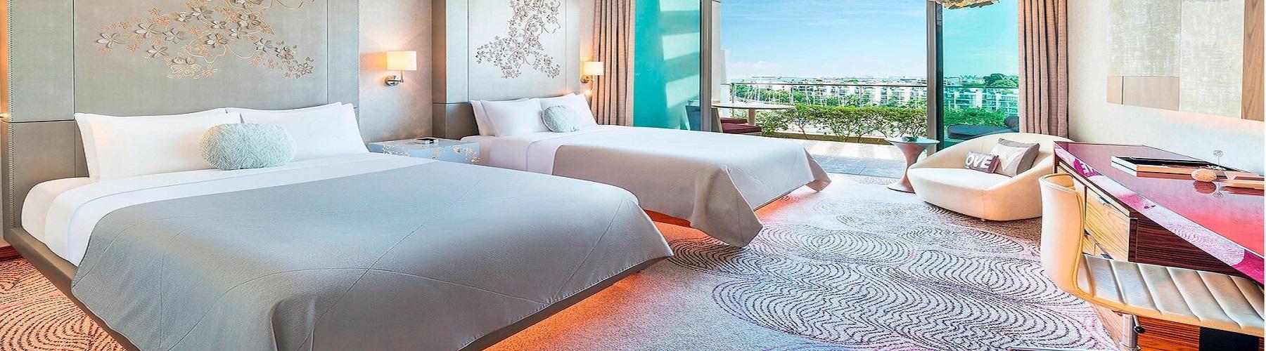 Забронировать номер в отеле W Singapore Sentosa Cove